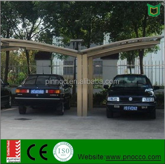 5400mm*3000mm*2400mm cheap price durable outdoor aluminum carport/canopy