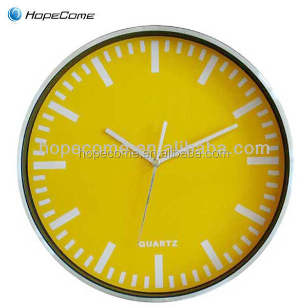 Wholesale aluminum wall clock korean online shopping