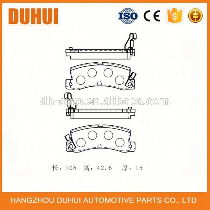 Automotive Pad Of Brake D352