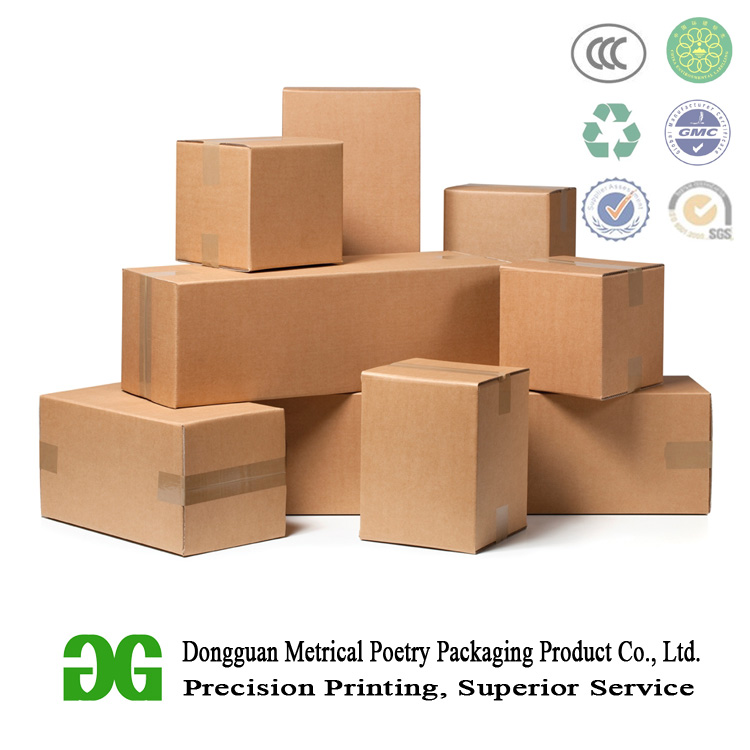 RSC box style corrugated paper box carton for fruit cherries packaging and shipping with custom printing