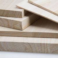 Paulownia Solid Timber Wood Board Panels With Great Quality