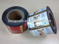chocolate aluminum foil food grade plastic packaging film