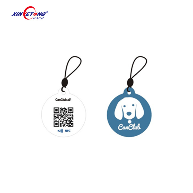 Type 2 Ntag203 / 213 / 216 Chip NFC Epoxy PET Tag