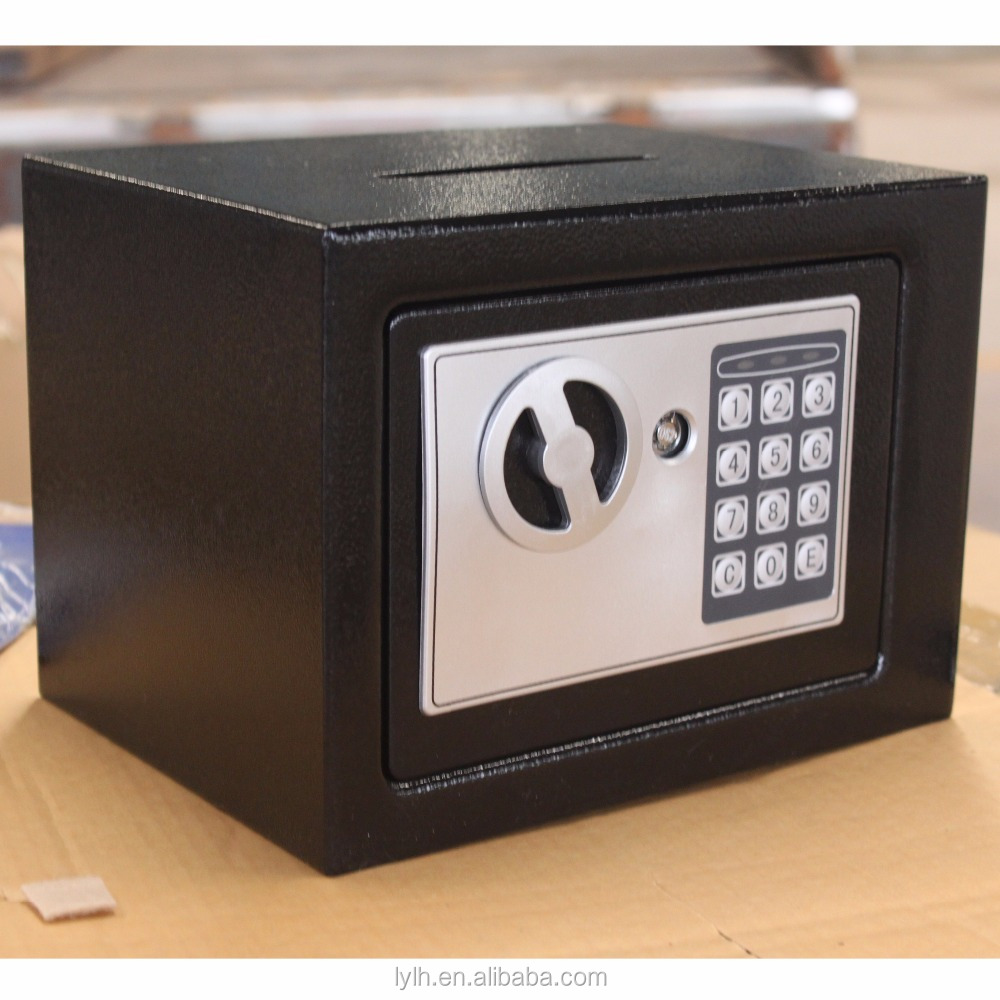 High security smart intelligent metal safe box digital hotel electronic safety box