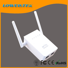 Wireless N indoor repeater up to 300mbps wifi signal repater with 2 external antenna