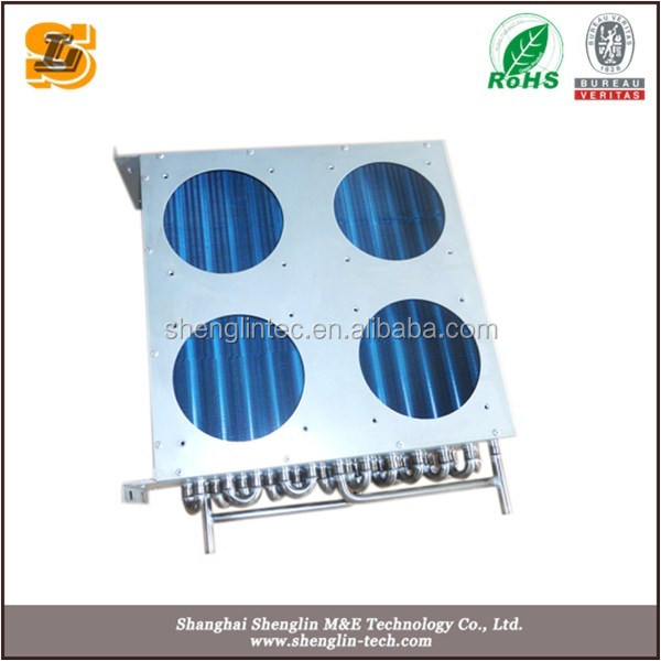 water dispenser stainless steel fin r134a heat exchangers