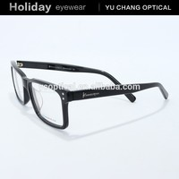 2015 fashionable full rim acetate material eye glass for men with good quality