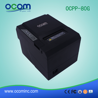 OCPP-80G: cheap 80mm receipt thermal POS printer machine with auto cutter 3 inch