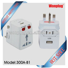 multifuction travel adapter usb convenient for your trip