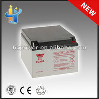 Reliable and professional 12v 24ah yuasa np24-12 gel type battery 12v 24ah lead battery plant 12v 24ah