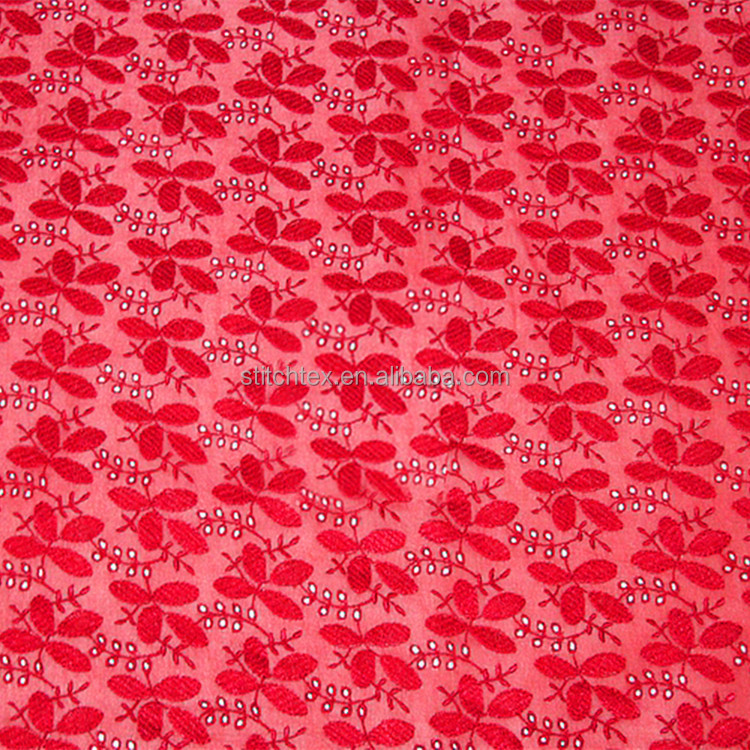 8mm Goergette based embroidered patterned silk fabric