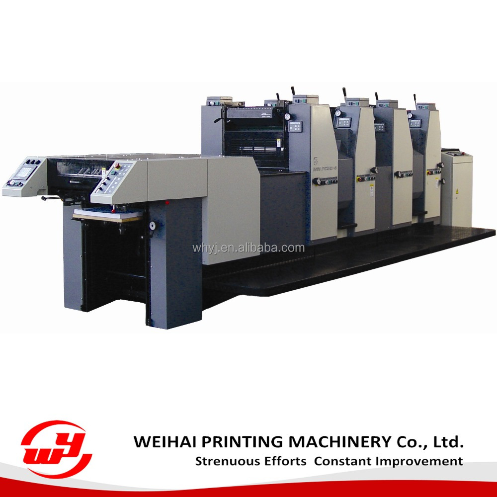 WIN524 automatic 4 color offset Printing Machine for A3 paper with good performance and low price
