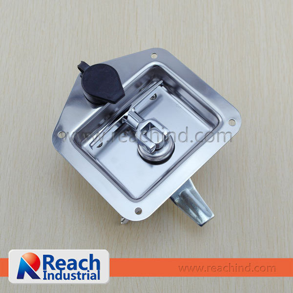 RPL014 Type 304 Stainless Steel Folding Tool Box T Handle Lock