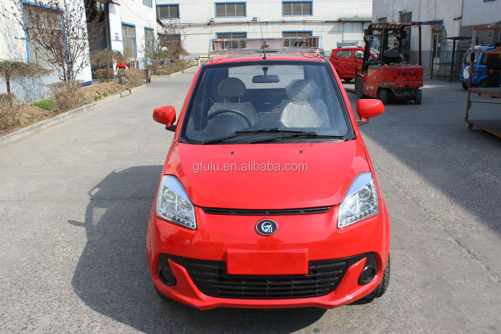China Fulu brand Passenger use 600cc right hand drive new car for adult/hybrid car/CNG new car