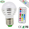 3W AC85-265V 50000hrs RGBW Led Light Bulb , Electric Bulb Save Money for Architectural Lighting Factory Price