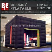 Winter inflatable cube party tent