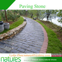 Cheap patio paver stones for sale/natural stepping slate slab