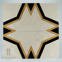 Spain Pinoso Crema Marfil Marble Beige Color Marble Floor Tile Spanish Marble Price Polished Flooring Waterjet Medallion