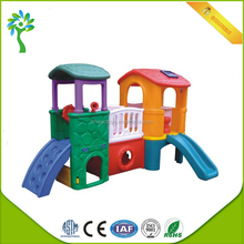 Russian indoor playground set equipment plastic slides for sale home used