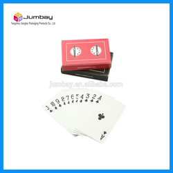 external 3d video playing cards for promotion