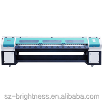 Gongzheng 3.2m outdoor large format inkjet printer with Spectra Polaris 512 35PL head