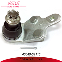 FOR ACV40/CAMRY HIGH QUALITY HOT SALE AUTO PRECISION LOWER CONTROL ARM BALL JOINT FOR TOYOTA CARS OEM: 43340-09110