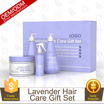 OEM Hair Care Set With Shampoo Conditioner Hair Mask Hair Spray
