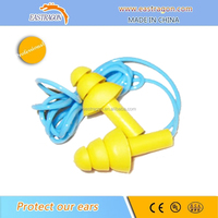 Silicon Water Ear Plugs with String