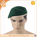 WOOL EMBROIDERY BERET MILITARY ARMY BERET MENS HAT GREEN UNIFORM CAP