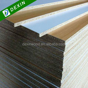 1220mmx2440mm particle board melamine laminated view for Particle board laminate finish