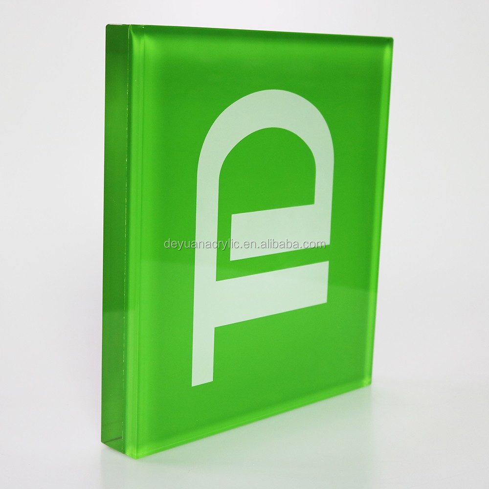 Colored Acrylic Block Acrylic Brand Block