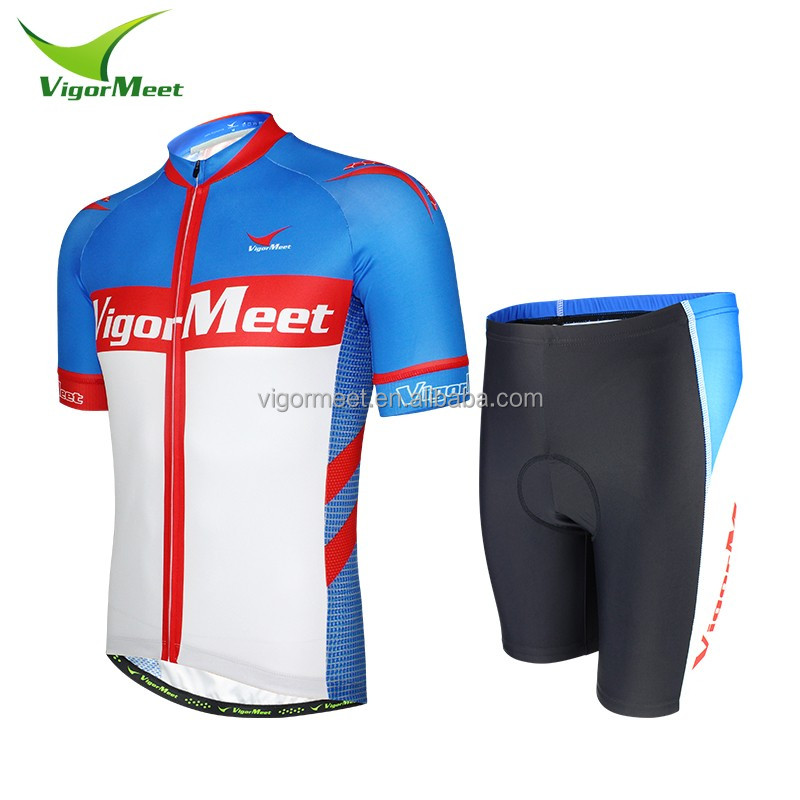Outdoor fashion bicycle cycling unisex sublimation print cycling clothing