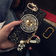 Glitter Mobile Phone Cover Acrylic Cell Phone Case For iphone 7