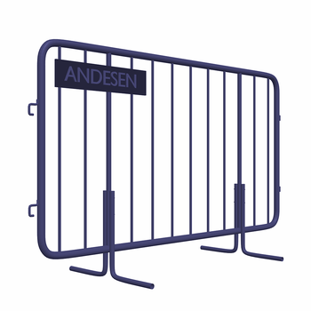 Factory Lowest Price Galvanized Temporary Fence/queue barrier/pedestrian fence