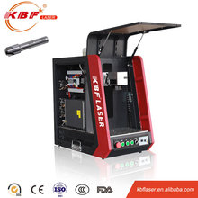 30w enclosed optical laser marking machine for metal plate chian factory