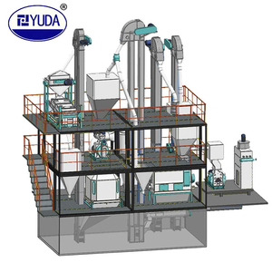 YUDA made complete wood pellet production line