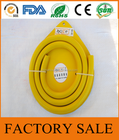 Cixi Jinguan China Supply Plastic Product Yellow Flexible PVC Pipe,Cooking Gas Cylinders LPG Gas Hose,Flexible Gas Tank LPG Hose