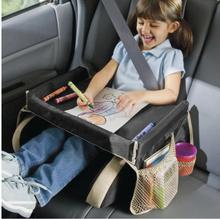 Waterproofing car table for kids back seat tray table Child safety seat tour tray car folding tables