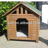 Cool Wooden Dog cage with Waterproof Roof DK015
