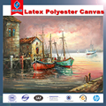 Latex polyester or Cotton Canvas 280g to 380g
