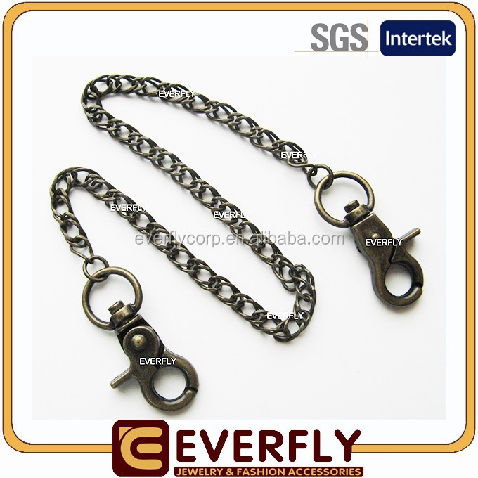 Hot sale metal belt jeans chain fashion jeans chain man