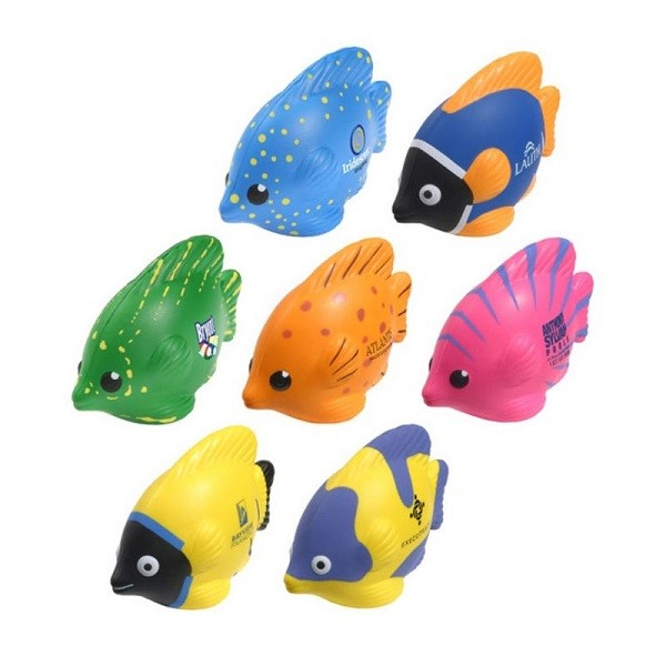 fish shape stress ball for promotion gifts