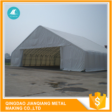 JQR6549 heavy duty fabric covered storage building tent