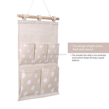 Lovely cute home storage over the door wall closet organizer storage pocket bags