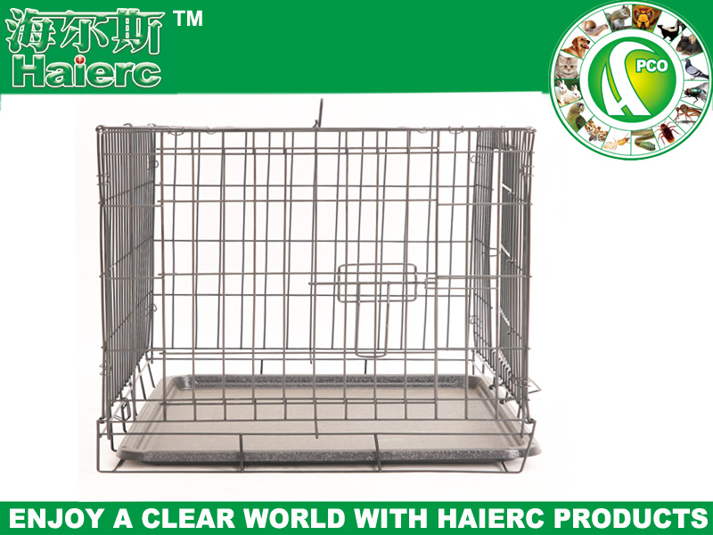 metal wire cage wire mesh dog kennel small animal transport cage