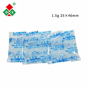 Wholesale Factory Price Pharmaceutical Grade Silica Gel Medicine Moisture Adsorber Bag