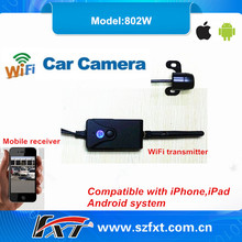 waterproof 30fps WiFi car reversing camera for toyota fortuner, support iPhone, iPad, Android system