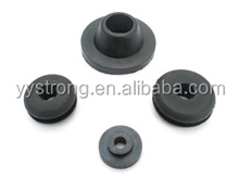Customized cheap clear black rubber shoulder stopper washer