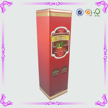 Paper Cardboard Packaging Boxes for Olive Oil Bottles oem