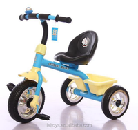 Dalei toys hot model kids tricycle baby car ride 2016 for preferential price